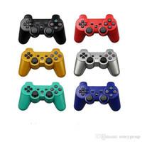 spielkonsolenspiele spielen großhandel-Wireless Bluetooth Gamepad für PS3 Controller Playstation 3 Dualshock-Spiel Joystick Play Station 3 Konsole