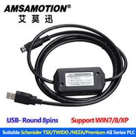 programación usb c al por mayor-Schenider TSX / TWIDO / Premium PLC Cable de programación TSXPCX3030-C Puerto USB adecuado