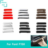 Wholesale car door handles stickers resale online - Door Handle Cover ABS Sticker for Ford F150 Car Styling set Car Interior Accessories