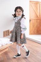 mädchen neue stil strümpfe großhandel-2019 new style Mädchenstrümpfe Reiner Baumwollstoff in reiner Farbe Komfortabel und süß Dekorieren Sie mit 4-farbigen Bögen