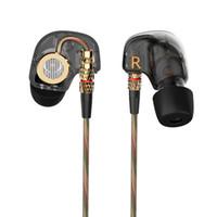 ohr stereo kopfhörer samsung groihandel-KZ-ATE 3,5-mm-In-Ear-Ohrhörer mit Mikrofon HiFi-Stereo-Super-Bass-Sport-Headset für iPhone / Samsung / MP3