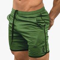 khaki bermuda shorts großhandel-Neue Designer Fitness-Studios Sportshorts Männer bermuda Männer kurz homme 8 Modelle Freizeitkleidung Brief Elastic Strand Shorts