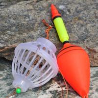 ferramenta de pesca flutua venda por atacado-Carp Fishing Float Monstro marinho Bobber com seis forte explosão Hooks Tamanho 9/10/11/12/13 # Pesqueiro Equipamento Ferramenta