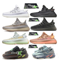 Wholesale black silver stockings for sale - Group buy 2019 Inertia v2 big size Geode triple black reflective sneakers with stock x static hyperspace ture form trfrm clay