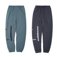 Wholesale gray yoga pants for sale - Group buy Season CALABASAS Pants Men Women Hip Hop Fashion Yoga Pants Striped Oversize Sweatpants