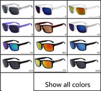 Wholesale titanium sport online - summer newest style Skateboarding sunglasses Only glasses colors cycling glasses sunglasses NICE FACE Take the sunglasses Dazzle colour