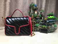 çanta için yeni stiller toptan satış-Tasarımcı lüks çanta çantalar Marmot kadınlar tasarımcı çanta 2019 yeni stil moda kılıf zincir omuz askısı crossbody bayanlar tasarımcı çanta