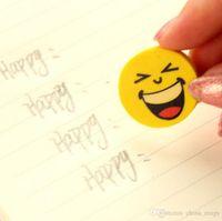 emoji eraser großhandel-Cartoon niedlichen Radiergummis Emoji Radiergummi Emotion Kawaii Radiergummi Neuheit Schreibwaren Schulbedarf Großhandel Cartoon Radiergummis
