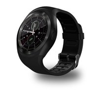 Wholesale y1 smart watch online – Y1 smart watch for android smartwatch Samsung cell Phone watches bluetooth for iphone with retail package