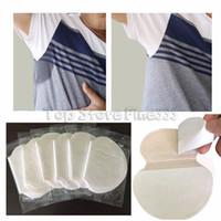 coussin jetable sous les aisselles achat en gros de-Paquet de 2 tampons de sueur aisselles jetables pour vêtements robe d'été Tampons de désodorisation Tampons absorbants aisselles Bouclier anti-transpirant