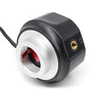 microscope oculaire usb achat en gros de-HD 5MP USB Capteur d'oculaire numérique 1.25