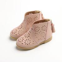 sandálias de ar de primavera venda por atacado-Meninas com ar-respirando Sue Shoes Primavera Princesa Sandálias 2019 New lazer sapatos confortáveis e Skid-proof Los zapatos # D1