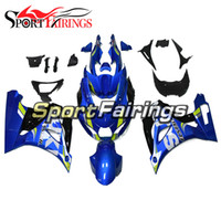 Wholesale sportbike bodywork for sale - Group buy Complete Fairings For Suzuki GSXR1000 Year ABS Motorcycle Fairing Kit Bodywork Sportbike Blue Covers Yellow Frames Hull