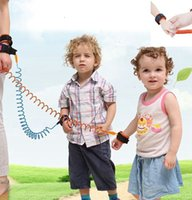 Wholesale kids safety wristbands for sale - Group buy Anti Lost Band Kid Child Safety Harness Anti Lost Strap Wrist Leash Walking m outdoor parent baby leash Rope Wristband Belt LJJK2198