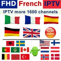 Wholesale iptv box usa online - 1 year iptv for Android TV Box K thousands tv channels IPTV Subscription USA CANADA Spain France Portugal Arabic UK IT and so on