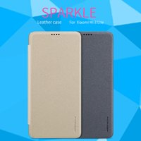 capa de couro original nillkin venda por atacado-Venda Por Atacado para xiaomi mi 8 lite caso capa original nillkin faísca pu leather case capa flip para Xiaomi mi8 Lite 6.26 polegadas