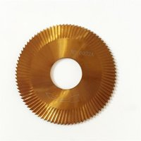 Wholesale car side blades for sale - Group buy 70 mm a Carbide Face Three Sided Blade Titanium Hard Metal Steel For Wenxing Car Key Milling Cutter d e e1