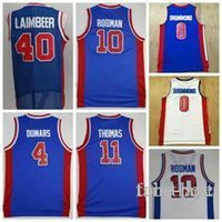 008210535cb Wholesale andre drummond jersey for sale - Detroit Rodman Pistons Jersey  Isiah Dennis Thomas Laimbeer Joe