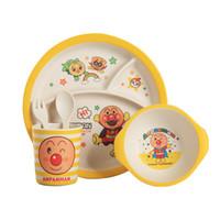 Wholesale dinnerware set cartoon for sale - Group buy 25 Sets Creative Cartoon Animal Shape Bamboo Fiber Dinnerware Sets For Baby Feeding Non Toxic Eco Friendly Kids Tableware Sets
