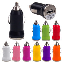 Wholesale iphone 5s mobile charger for sale - Mini USB Car Charger A Universal Adapter for iphone S plus Cell Phone MP3 MP4 player mobile S4 S5 S6 tablet