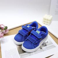 children s sports shoes size al por mayor-Caliente de diseño de marca niños de la venta Zapatos de deporte casual muchachos y los zapatos corrientes de las zapatillas de deporte de los niños para los niños tamaño 25-35