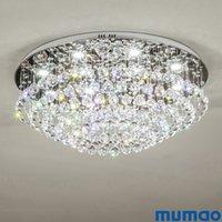 led kapalı tavan fikstürü toptan satış-Basit Kristal Oturma Odası Yatak Odası için Modern LED tavan ışıkları Ev Kapalı Dekorasyon LED Tavan Sarkıt Aydınlatma Işık Fikstür