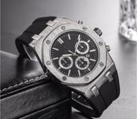 ingrosso grandi orologi digitali-Top brand Large Size Watch Uomo Luxury Designer automatic Date calendar gold Wristwatch Sports style Military silicone Orologio digitale grande maschile
