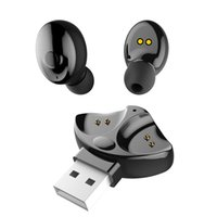 Wholesale mini wireless bluetooth microphone for sale - Group buy Hot sell Xg Tws Bluetooth Headset Mini Wireless Earphones Sports Stereo Earphone With Microphone For Iphone Samsung Ios Android