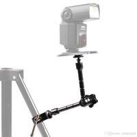 ingrosso braccio magico per il monitor-11 '' Articulating Magic Arm + Super Clamp Crab Pinza Clip per monitor della fotocamera