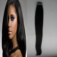 burgundy brazilian remy hair 2021 - Tape In Human Hair Extensions 40pcs Remy Hair Double Sided Tape Hair Skin Weft Invisible 100g