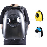 ingrosso piccola cassa di viaggio per cani-Cat Bag Space Capsule Pet Cat Backpack Per Kitty Puppy Chihuahua Small Dog Carrier Crate Outdoor Borsa da viaggio Cave For Cat Y19061901