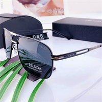 ingrosso occhiali da sole degli uomini d'argento degli specchio-Occhiali da sole classici di alta qualità Designer Grandi occhiali da sole in metallo per uomo Donna Argento specchio 58mm 62mm Lenti in vetro Protezione UV888