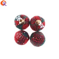 Wholesale crimp balls for sale - Group buy MM Jewelry Accessories DIY Hand Made Christmas Effect Ball Shape Jewelry Decoration Earring Findings