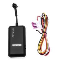 rastreador de mini vehículo en tiempo real al por mayor-Original GT02 Mini Car Tracker GPS tk110 en tiempo real GSM GPRS Localizador GPS Dispositivo de rastreo de vehículos Google Link en tiempo real