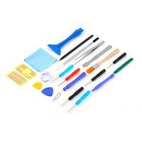 kit onarım tabletleri toptan satış-Onarım Tornavidalar 22 1 Açılış Aracı Seti için iPhone Konut Samsung Tablet için Meraklı Araçları Kiti
