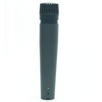 gravação de microfone dinâmica venda por atacado-Envio New SM57 bom som Instrumento Musical Vocal Karaoke Gravação Microfone Dinâmico Universal Mic Mike DHL