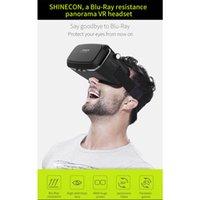 universal 3d vr al por mayor-Gafas HL VR / AR Gafas 3D Gafas de realidad virtual Shinecon Headset VR Caja universal 3D para iPhone inteligente para 4.7 6.0 tamaño d12