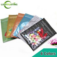 Wholesale plastic ziplock bag small for sale - Group buy Leotrusting One Side Clear Aluminum Foil Ziplock Bag Resealable Small Heat Sealing Translucent Coffee Powder Gift Plastic Bag