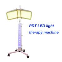 belleza de fotones bio al por mayor-Terapia de luz BIO profesional Fotón LED Rejuvenecimiento de la piel tratamiento del acné PDT máquina de cuidado facial equipo de salón de belleza