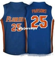 Wholesale throwback college basketball jerseys for sale - Group buy Factory Outlet Chandler Parsons Florida Gators college Basketball Jerseys blue White Retro Throwbacks Stitched Personalized Custom Jerse