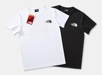 halbe hülsent-shirts für männer großhandel-Herren T-Shirt 2019 Flut Marke klassischen Buchstaben LOGO Druck Kurzarm Mode Freizeit Baumwolle halbe Hülse Fabrik Direktverkauf
