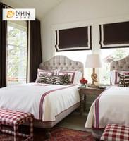 sombras romanas al por mayor-Persianas romanas modernas con persianas romanas de banda Cortinas personalizadas cortinas de ventana para sala de estar