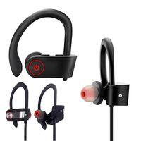 bluetooth 4.1 kulaklıklar toptan satış-DXVROC 4.1 Bluetooth Kulaklık CSR8635 Kablosuz Spor Stereo Ağır Bas Kulaklık IPX7 Su Geçirmez MIC Iptal Bluetooth Kulaklık Gürültü