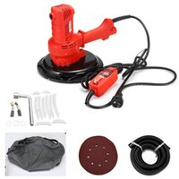 Wholesale putty tools for sale - Group buy AC220V Wall Putty Polisher Grinding Machine Portable Vacuum Self Clean Type Dry Wall Sanding Grinding Power Tools