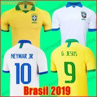 ea6eedf9bb3 2019 brazil soccer jersey football shirt 19 20 camisa de futebol copa  america brasil camiseta de fútbol COUTINHO FIRMINO JESUS MARCELO