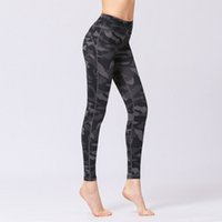 Wholesale yoga pants work out print online - Slimmer Looking Yoga Work Pants with Tapered Bottom Full length Athletic Pants High waist for Yoga practice Working out Dancing casual wear