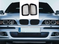 Wholesale bmw series black kidney grills online - Matte Black Front Hood Kidney Grills FITS BMW Series E36 Door