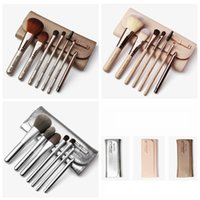 Wholesale lip eye online - Makeup Brushes Set Powder Foundation Eye Shadow Eyebrow Eyelash Lip Make Up Brush Kits Cosmetic Brushes With Makeup Bag set RRA857
