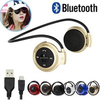 Wholesale headphones headset sport mp3 player for sale - Group buy 2020 New Mini Neckband Sport Wireless Bluetooth Handsfree Stereo Headset Headphone Earphone for Mp3 Player