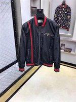 erkek ceketleri toptan satış-2019 rüzgarlık erkek ceket erkek tasarımcı ceketler Bahar Ve Sonbahar Dönemi Ve Moda Eğlence Ceket Ceketler Menswear12 Için Çift Ceket